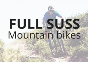 GIANT Mountain bikes with full suspension